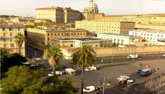 Vatican City Live Web Cam City of Rome Italy