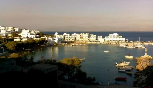 Piso Livadi Beach Resort Weather Web Cam Paros Island Greece