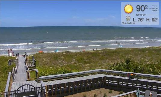 Ponte Vedra Beach Resort Beach Weather Web Cam Florida