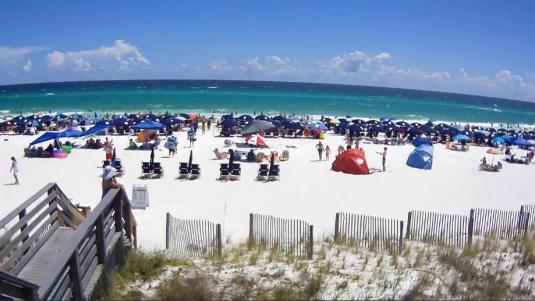 Destin Holiday Beach Resort Weather Web Cam Northwest Florida