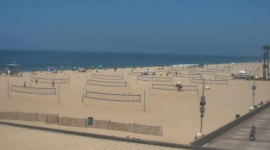 Hermosa Beach Resort Beach Weather Web Cam Los Angeles County California
