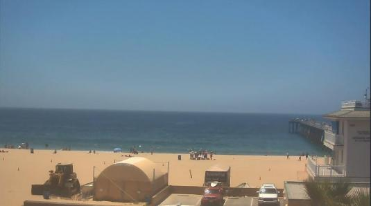 Hermosa Beach Pier Surfing Beach Weather Web Cam Los Angeles County California