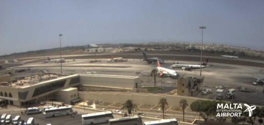 Malta International Airport Weather Web Cam Island of Malta