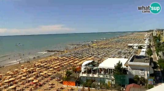 Hotel international beach caorle webcam