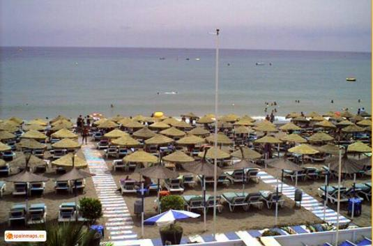 Costa del Sol  Live Torremolinos Holiday Beach Weather Web Cam Malaga Spain
