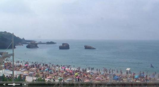 Biarritz Beach Resort Beach Weather Web Cam South West France