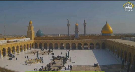 Great Mosque of Kufa Webcam Kufa Iraq