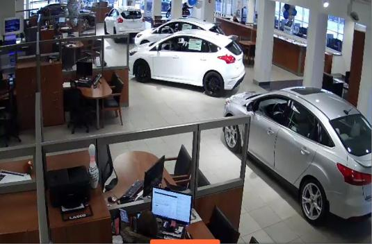 Lasco Ford Garage Car Showroom Webcam Fenton City US State Michigan