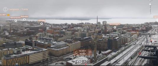 Live City Of Tampere Panorama Weather Cam Tampere South Finland