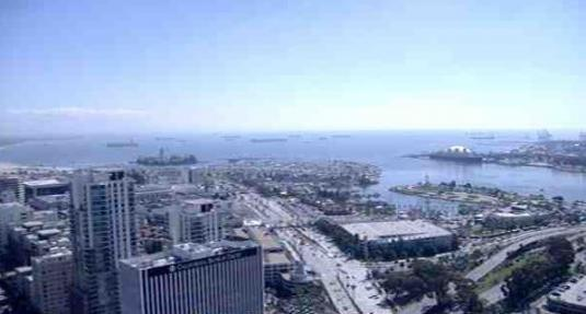 Long Beach City Live Port Long Beach Weather Web Cam California