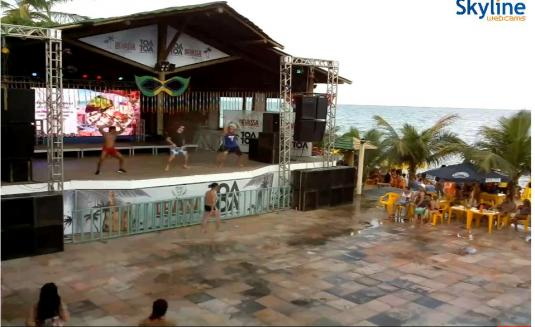 Praia de Taperapuan Resort Weather Web Cam Porto Seguro Brazil