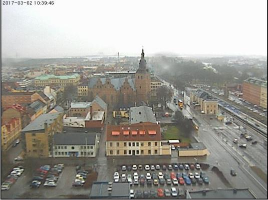 Kristianstad City Centre Weather Web Cam Kristianstad Sweden