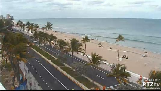 Hilton Fort Lauderdale Beach Resort North Beach Weather Panorama Web Cam Florida