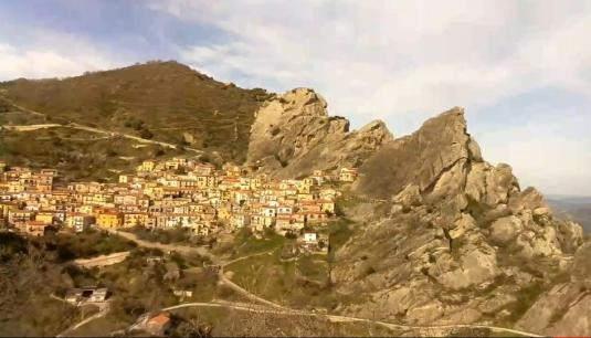 Castelmezzano Live Streaming Weather Web Cam Lucania South Italy