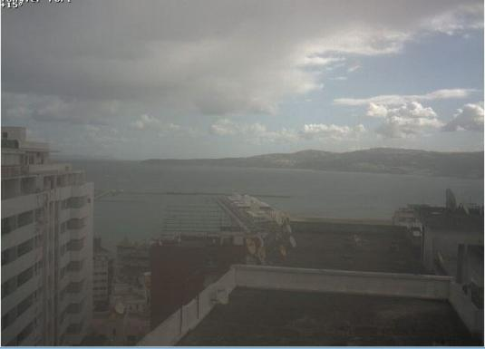 Port Tangier Ferry Weather Web cam Tangier City Northwest Morocco