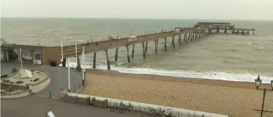 Deal Pier Beachfront Live Weather Web Cam Deal Seaside Resort Kent