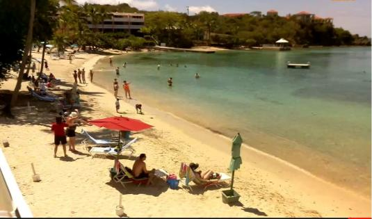 St Thomas US Virgin Island Live Secret Harbour Resort Beach Weather Web Cam  US Virgin Islands