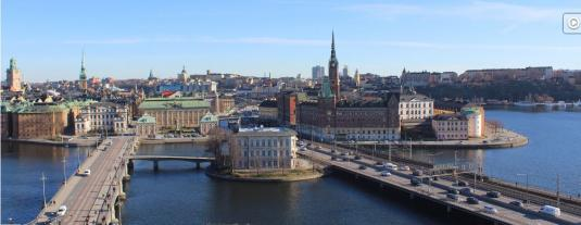 Stockholm City Centre Weather Web Cam Stockholm Sweden