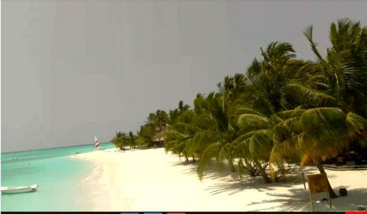 Meeru Island live Beach Holiday Weather Web Cam Maldives