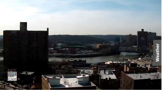 Willis Avenue Bridge Panorama Web Cam Harlem River New York City