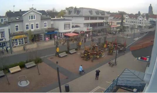 Bad Wildungen Live Kurschattenbrunnen Fountain Web Cam North Hesse Germany