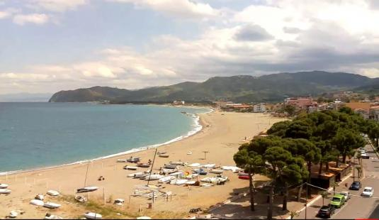 Patti Beach Resort Beach Weather Webcam NE Sicily South Italy