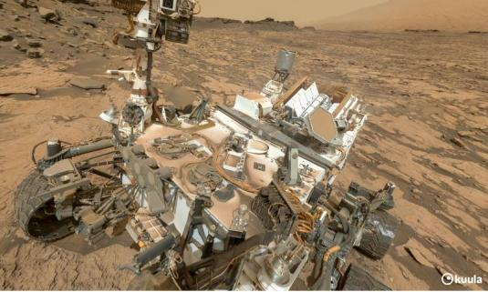 Planet Mars filmed LIVE Curiosity Rover 360 Degree Panorama Cam Views Planet Mars