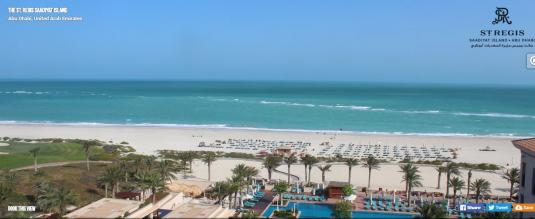 Saadiyat Island Resort Beach Weather Webcam Abu Dhabi UAE