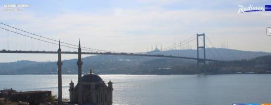 Istanbul Live Bosphorus Bridge Weather Webcam City of Istanbul Turkey