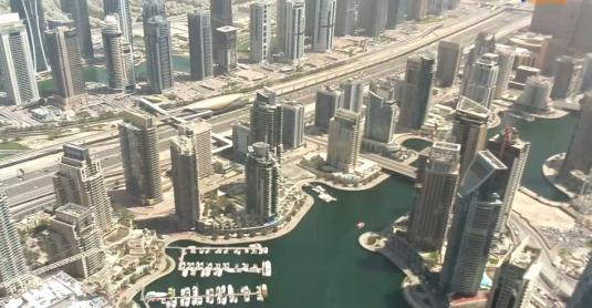 Princess Tower Live Dubai Marina Webcam Dubai United Arab Emirates