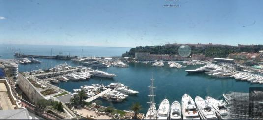 Monaco Live Port Hercules Marina Weather Webcam Monaco