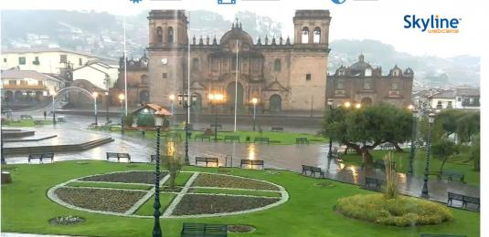 Cusco City Square Weather Cam City of Cusco South East Peru