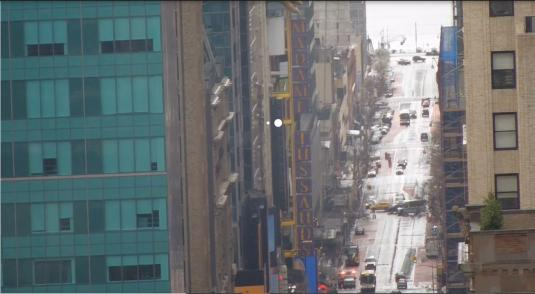 Manhattan Live 42nd Street New York COVID-19 Lockdown Cam New York