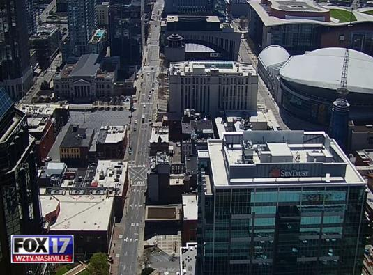 Live Nashville Downtown Traffic Weather COVID-19 Webcam Tennessee