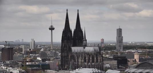 Cologne Cathedral Live Streaming Cologne Rhine panorama weather Cam Cologne Germany