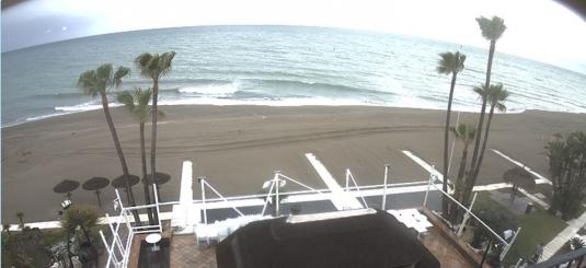 Torremolinos Live La Carihuela Beach Holiday Weather Cam Costa del Sol SouthSpain