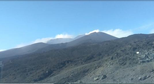 Mt Etna Live Streaming Volcano Monitoring Web Cam Sicily Southern Italy