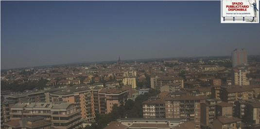 Piacenza City live Skyline Weather Web Cam Northern Italy