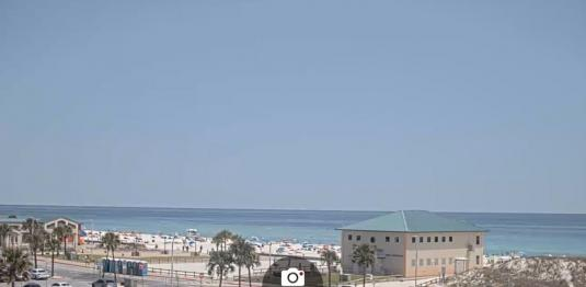 Pensacola Beach Resort Casino Beach Weather Web Cam Santa Rosa Island Florida